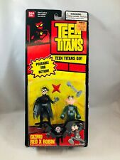 Teen Titans Gizmo Red X Robin Action Figures