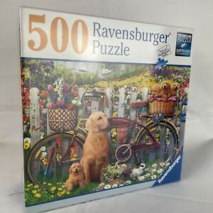 """Brand New - 500 Pieces Ravensburger """"Cute Dogs"""" Puzzle Sealed"""