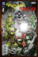 Batman Teenage Mutant Ninja Turtles #1 IDW/DC 1st Print NM+!!