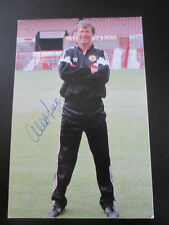 Manchester United 1988-1990 Signed Alex Ferguson Football Photo Card  /bi