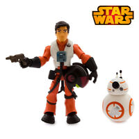 STAR WARS TOYBOX • DISNEY Poe Dameron BB8 Action Figure FIGURINE Toy SEALED BOX