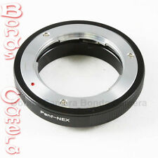 Olympus PEN F PENF mount lens To Sony NEX E mount Adapter A7 A7R A6000 NEX-7 5T