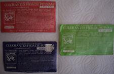 Vintage Putnam Fadeless Dyes & Tints 15 Packs - Sealed
