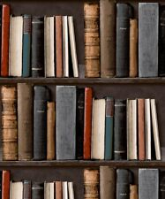 Papel Pintado Grandeco biblioteca POB-33-01-6 - Caja De Estantería Libros De Estudio