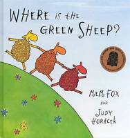 Where is the Green Sheep? by Mem Fox Hardcover Book Free Shipping!