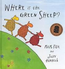 WHERE IS THE GREEN SHEEP? - Mem Fox Hardback 2004 VERY GOOD CONDITION DELIGHTFUL
