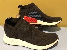 [CQ2372] New Adidas Boost NMD_CS2 PK Black Slip On Size 9