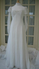 Chiffon Long Sleeve Wedding Dresses