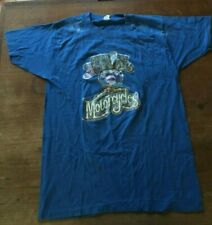 VTG ON THE 7TH DAY GOD CREATED MOTORCYCLES SS BLUE L T SHIRT