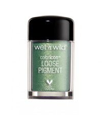 CELTIC GLOW WET N WILD COLOR ICON LOOSE PIGMENT MOSS GREEN SHIMMER FANTASY MAKER