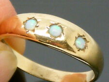 9ct Gold Opal Hallmarked Ring size P