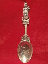 HISTORISMUS SILBERLÖFFEL 800 er Silber gepunzt RARITÄT um 1800 20,5cm / 72g RAR