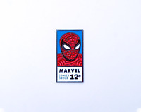 Spider-Man Comics Fan Art Enamel Pin