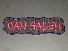 PUNK ROCK METAL MUSIC SEW/IRON ON PATCH:- VAN HALEN (a)