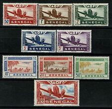 SÉNÉGAL  1942 Série  Poste Aérienne YT n° 22 à 30  neufs ★★ luxe / MNH  (C)