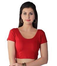 Vorgefertigte Baumwolle Stretch Lycra Einheitsgröße Saree Choli Designer Sari To...