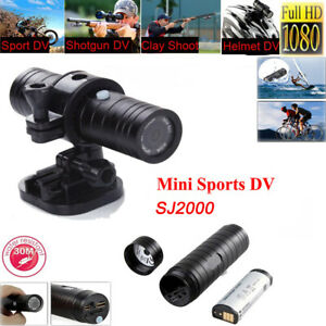 HD 1080P Mini Sports Action Camera DV Bike Helmet Action DVR Video Cam SJ2000