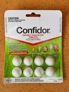 Outdoor Garden Plant Pest Insect Bayer 8 Tablets Mealybug Aphid Scale Psyllid