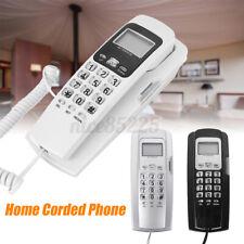 White Black Gray Home Corded Phone Telephone Business Office Desktop LCD