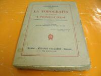 """La Topografia del Rom.""""I Promessi Sposi""""+Tav. RARE G.Bindoni Anno 1928 295 Pag."""