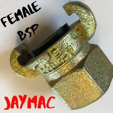 Claw Coupling for air compressor hose Female thread JAYMAC Q2 part code