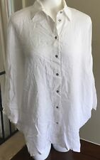 Diesel C-Cape Hi-Low Dolman Sleeve Top Womens Small White msrp $158 New DSH