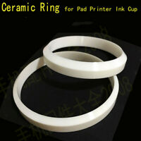 Sealed Inkcup Ceramic Circle Ring One Sided Pad Printing Equipment Parts lot