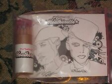 MAC LIMITED EDITION HEATHERETTE NOVELTY SWATCH MUTLI-COLOR PENCILS COLORING BOOK