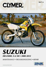 CLYMER SERVICE REPAIR MANUAL SUZUKI DR-Z400E, DR-Z400S & DR-Z400SM 2000-2012 DRZ