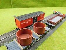 D02 Pocher H0 3x US Güterwagen  Missouri Pacific  V.&.T 45  V.&T 74