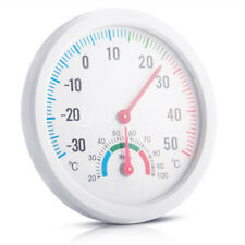 Tester Weather Meter Indoor Outdoor Wall Window Office Thermometer Hygrometer