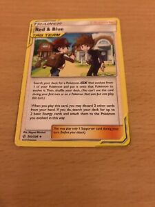 Pokemon Card Red & Blue 202/236 Inc Free Card Deal