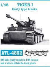 Friulmodel ATL-4802 1/48 German Tiger I Early type Metal Tracks (220 links)