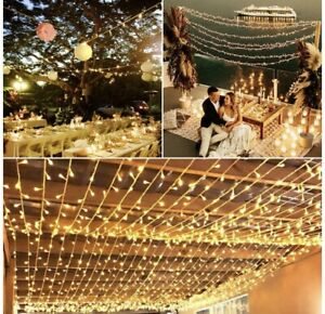 Extendable 82FT 200 LED Christmas String Lights With 8 Lighting Moods