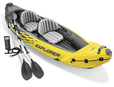 Intex Explorer K2 Kayak, 2-Person Inflatable Kayak Set (local pickup only)