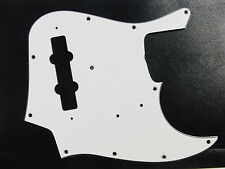 USA JB Blanc 3 Ply Pickguard Montreux Selected Convient To Jazz Bass