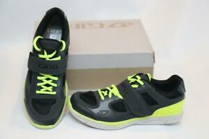 New Giro Whynd Women's Bike Shoes 38 6.5 Gray Yellow 2-Bolt SPD Cycling MTB Spin