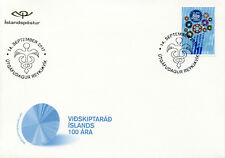 Iceland 2017 FDC Chamber of Commerce 50th Anniv 1v S/A Set Cover Stamps