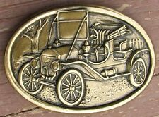ORIGINAL NOS FORD MODEL T BRONZE or BRASS ADVERTISING BELT BUCKLE #257