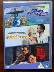 Sound of Music South Pacific West Side Story DVD Box Set Classic Musical Movies