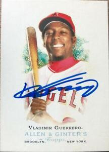 Vladimir Guerrero Autographed 2006 Topps Allen & Ginter #9