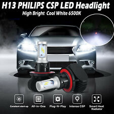 180W 18000LM H13 9008 Hi/Lo PHILIPS LED Headlight Lamp Bulb Conversion Kit 6500K