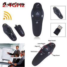 2.4GHz Wireless USB PowerPoint PPT Presenter Remote Control Laser Pointer Pen