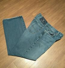 Lucky Brand Boot Cut Short Length Blue Jeans OL Patterson Wash Men sz 32 x 29