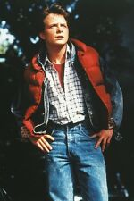 Back To The Future Part II Michael J. Fox in red jacket 11x17 Mini Poster