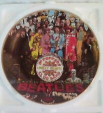 The Beatles 'Sgt. Peppers Lonely Hearts Club Band' Plate. By Delphi. 1992.