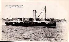 Blackpool. Twin Screw Steamer Minden off North Pier # E.1578.