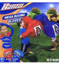 Banzai Kids Inflatable Mega Boxing Punching Gloves 1 Red Pair