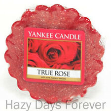 YANKEE CANDLE SCENTED TART MELT True Rose BUY 10 GET FREE P&P Floral NEW roses