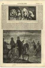 1855 Dogs Heads Jadin Turkish Cavalry Fording River